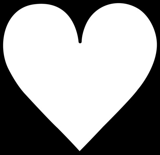 Heart black and white heart black and white heart clipart clip art 3