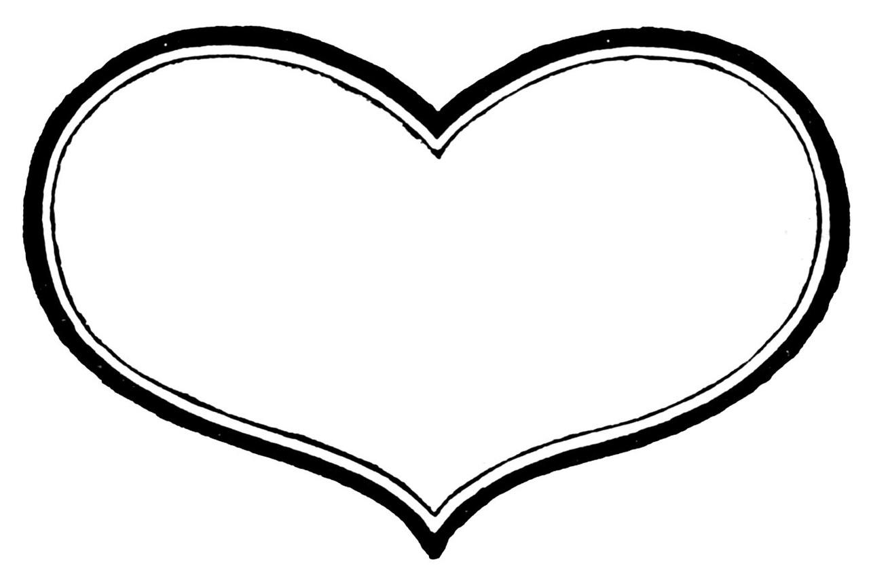 Heart black and white heart black and white heart clipart clip art