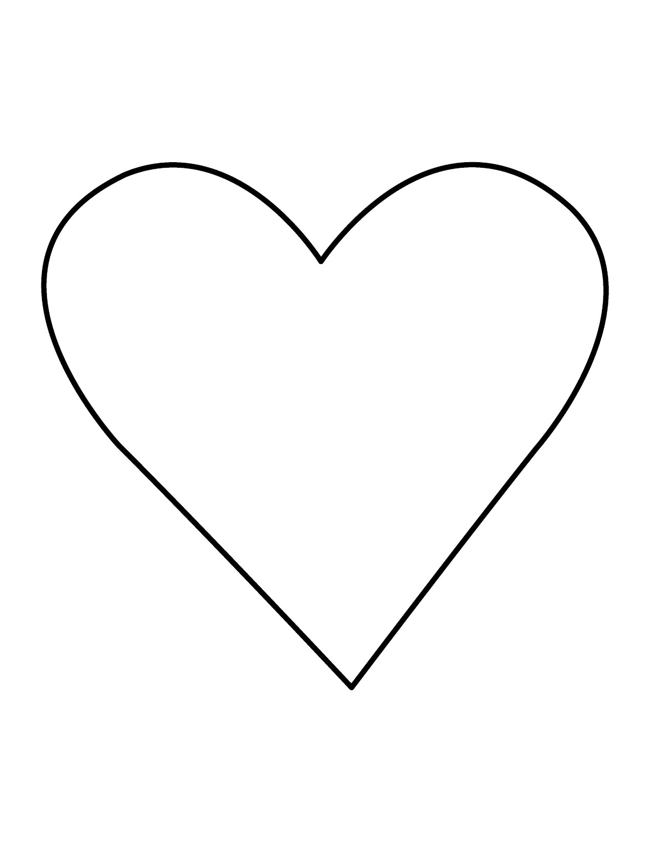 Heart black and white heart black and white heart clipart hearts 4 4