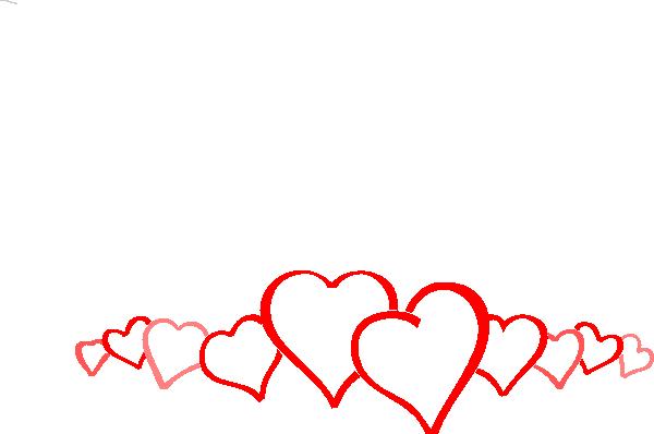 Heart Border Clipart . - Heart Border Clipart