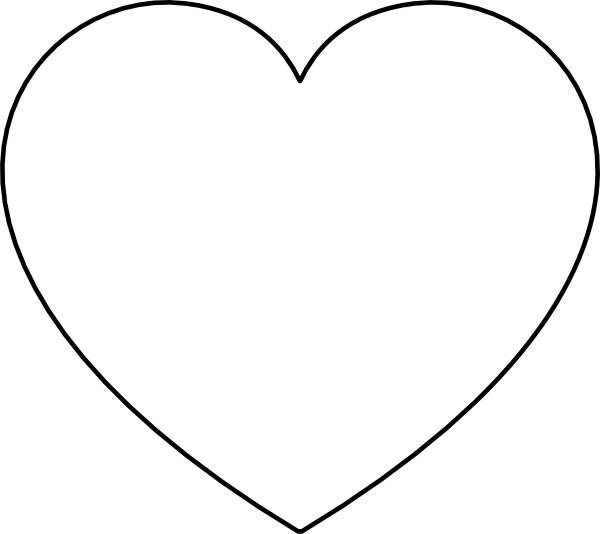Heart clip art Free vector 34.32KB