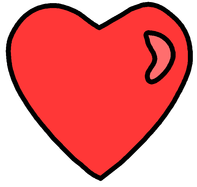 Heart Clip Art by darkslavar ClipartLook.com