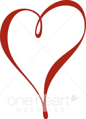 Red Heart Clip Art - Heart Clipart