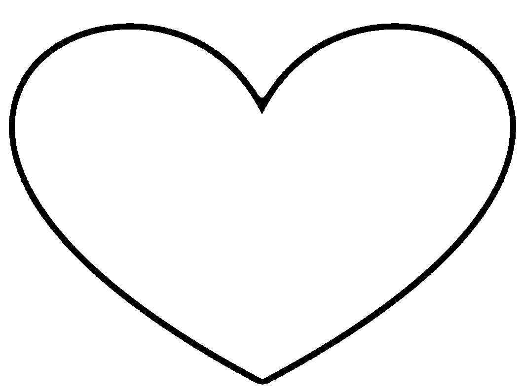 heart clipart - White Heart Clipart