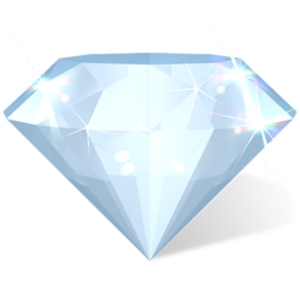 Heart diamond clipart 0 image. Diamond Image
