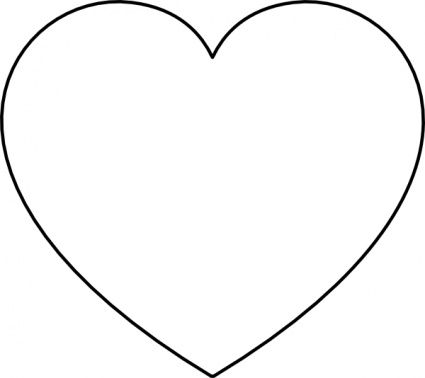 Heart Frame Clip Art Black And White Clipart Panda Free Clipart