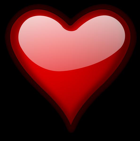 Heart Gloss 5 Clipart