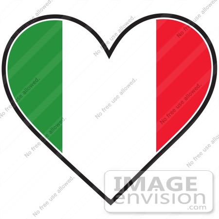 Heart Italy Clipart #1-Heart Italy Clipart #1-4