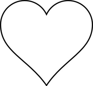 Heart Outline Clip Art-Heart Outline Clip Art-8