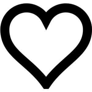 Heart Outline clip art-Heart Outline clip art-7
