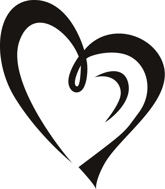 Heart outline heart clipart fancy outlin-Heart outline heart clipart fancy outline-18