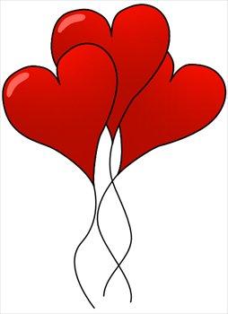 Hearts Clip Art Free - clipartall .