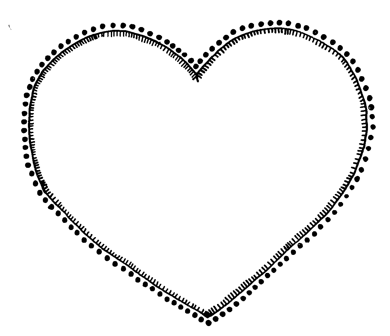 Hearts Clipart Heart Black And White Fre-Hearts clipart heart black and white free clipart images-12