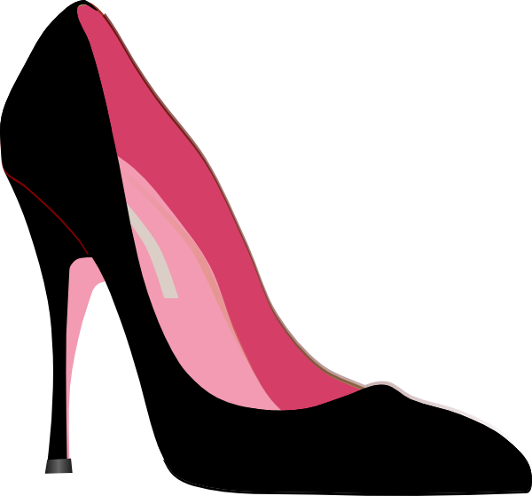 Heel Clip Art At Clker Com Ve - Heels Clipart