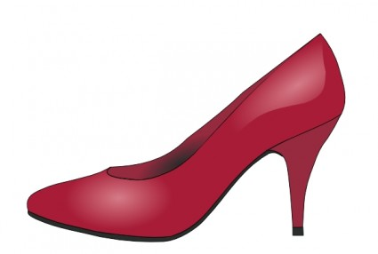 Heels on high heels clip art .