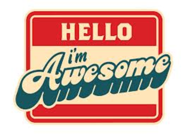 Hello Im Awesome Image