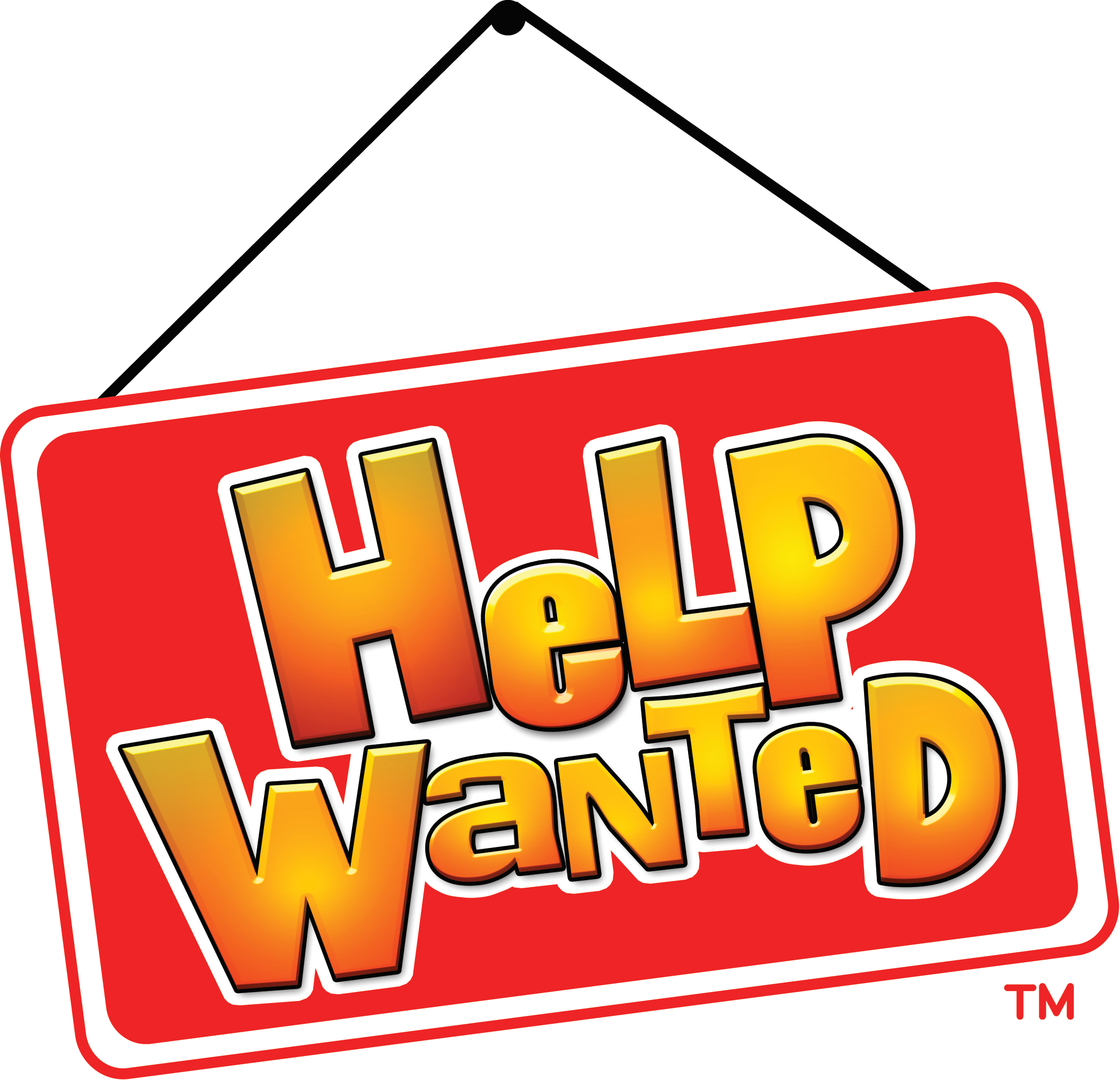 Help Clipart Helpwanted Logo  - Help Wanted Clipart