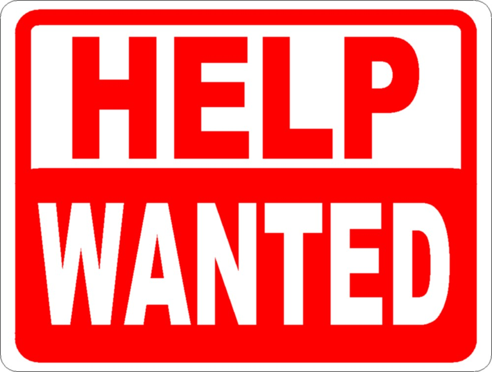 Help Wanted Clipart - Help Wanted Clipart