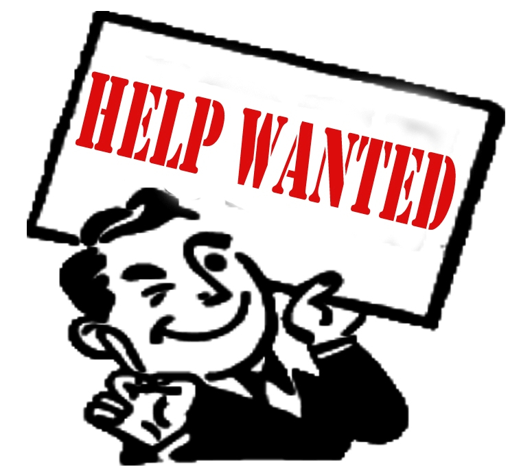 Help Wanted Clipart Man Holding Help Wan-Help Wanted Clipart Man Holding Help Wanted Sign-2