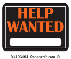Help Wanted - Help Wanted Clipart