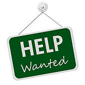 help wanted sign ... - Help Wanted Clipart