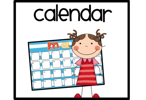 Helper 20clipart | Clipart li - Calendar Clip Art