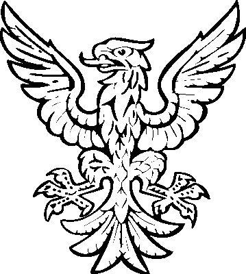 Heraldic Clip Art Eagle3-Heraldic clip art eagle3-8