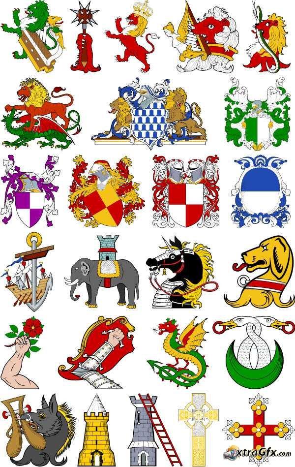 Heraldry Clip Art-Heraldry Clip Art-10