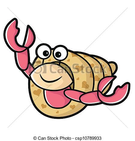 hermit crab clipart-hermit crab clipart-4