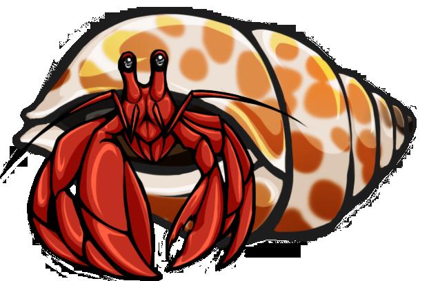 Hermit Crab By Brittlebear .-Hermit Crab by Brittlebear .-11