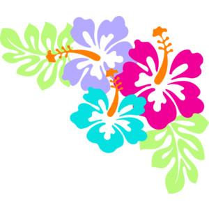 Hibiscus Corner Clip Art-Hibiscus Corner clip art-8