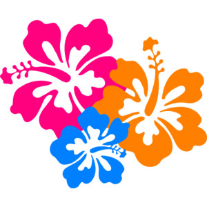 Hibiscus Flower 6 Clip Art-Hibiscus Flower 6 clip art-9
