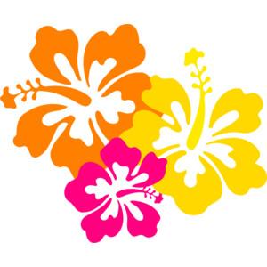 Hibiscus Flowers 4.5 clip art