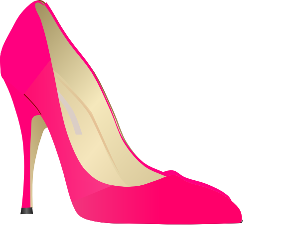 High Heel Clip Art At Clker C - High Heels Clipart