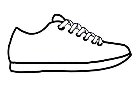 54 Tennis Shoe Clipart Clipartlook