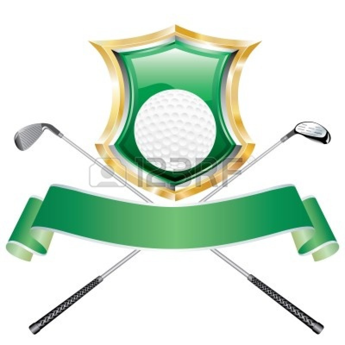 High Quality Golf Clipart #1
