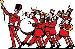 High School Marching Band Clipart Kid-High school marching band clipart kid-7