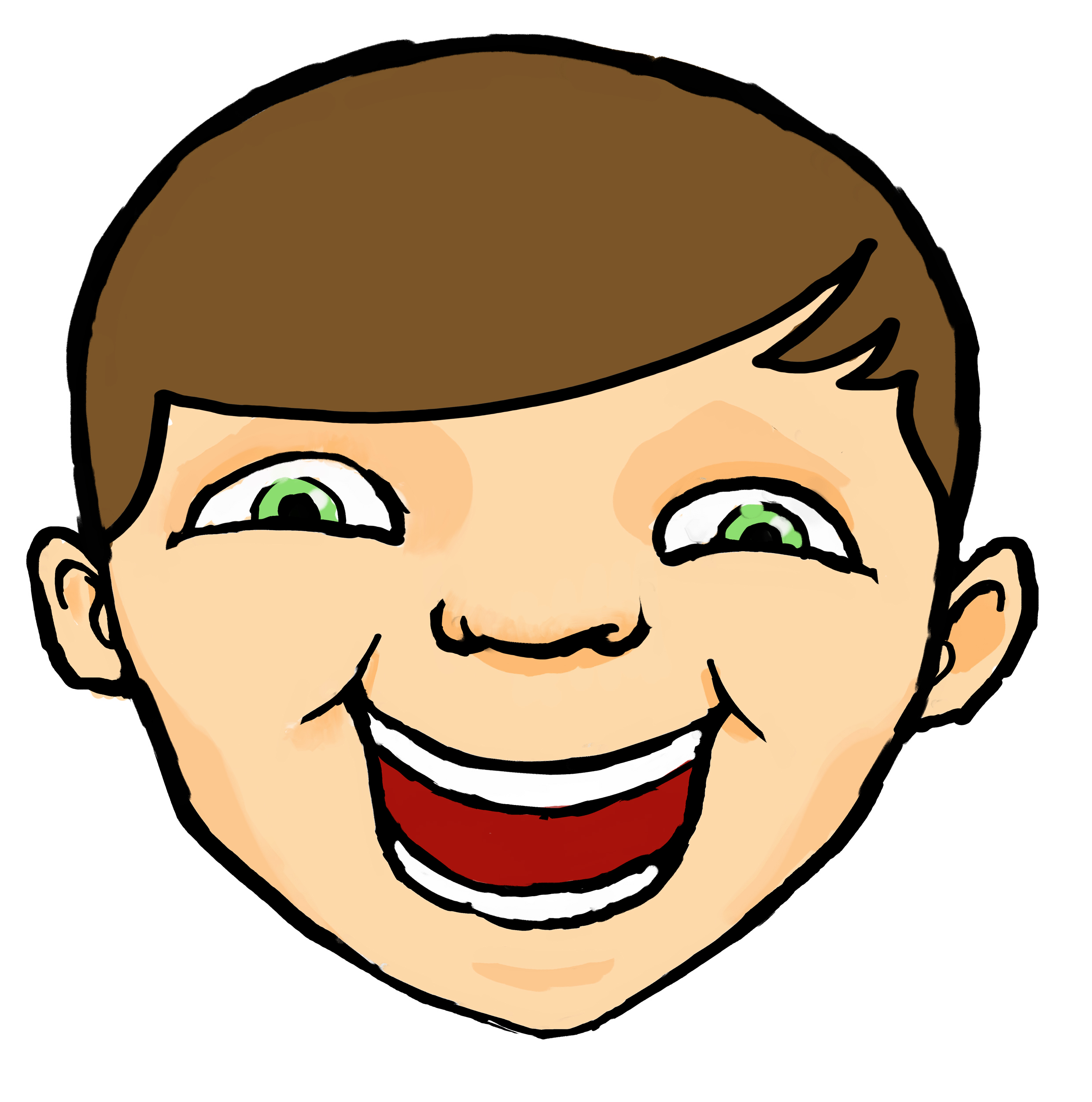 Hilarious Laughter Clipart #1