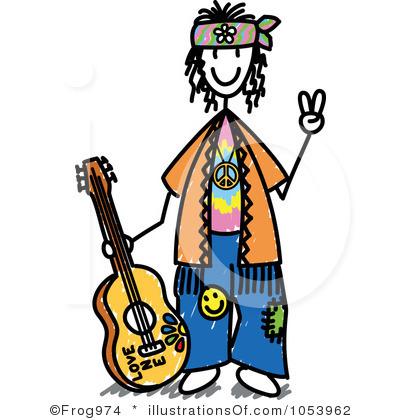 hippie clipart - Hippie Clip Art