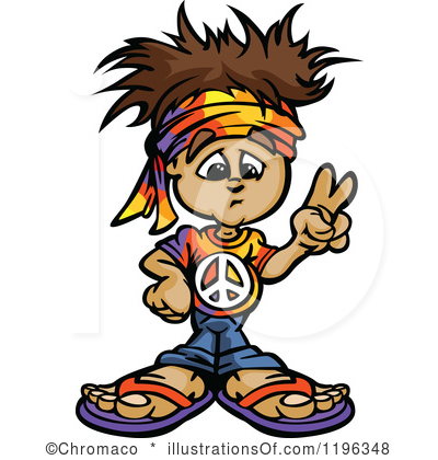 Hippie Clipart Royalty Free Hippie Clipart Illustration 1196348 Jpg