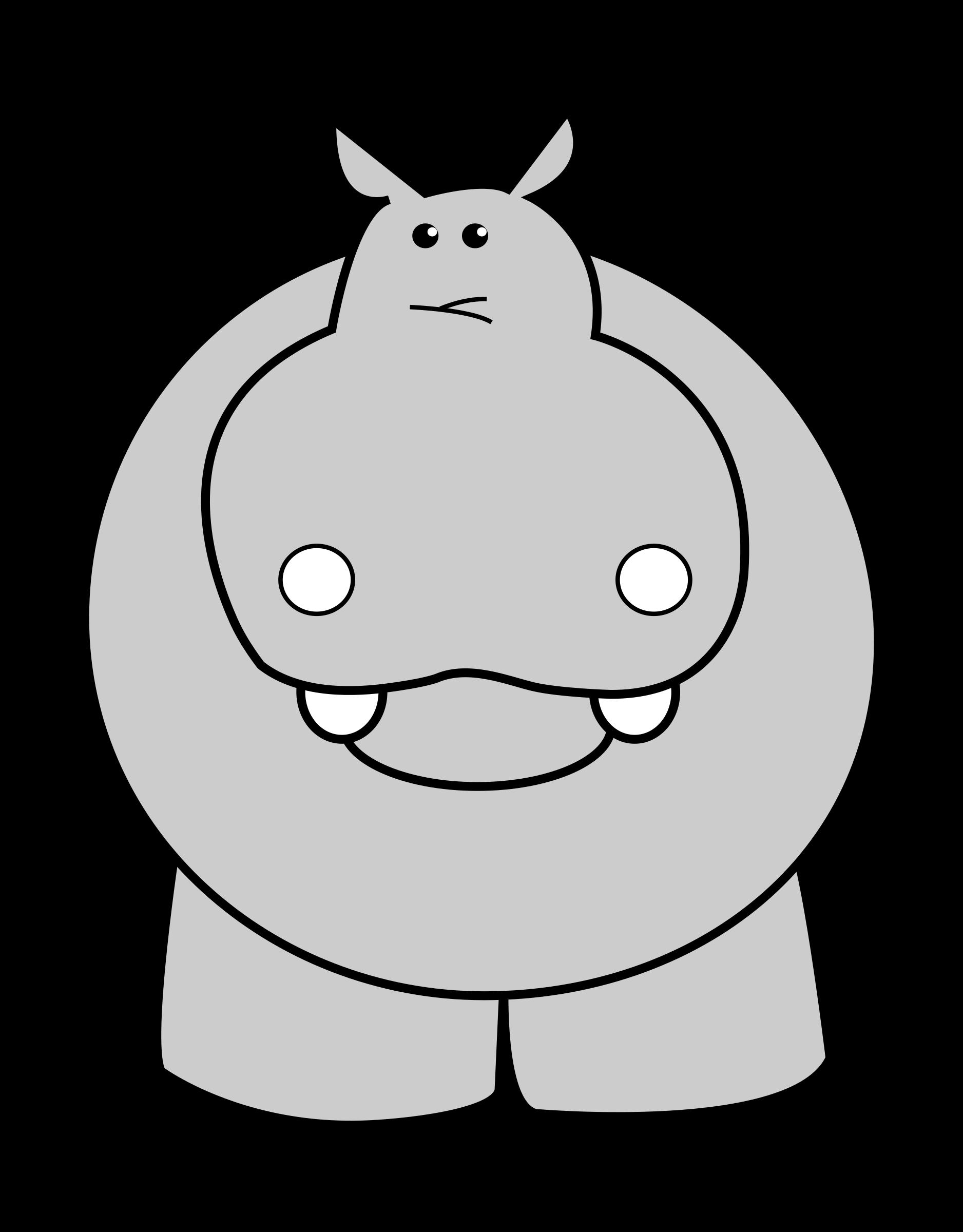 Hippo Clip Art Hippo Clipart - Clip Art Hippo