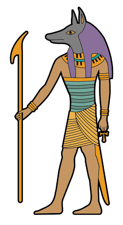 History For Children Free Friday Anubis -History For Children Free Friday Anubis Clip Art-16