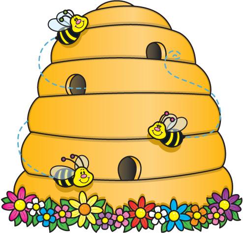 Hive Clip Art-Hive Clip Art-0