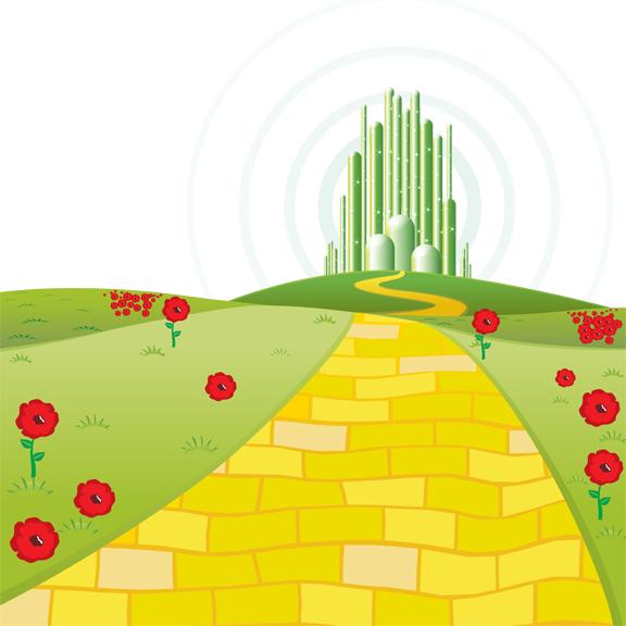 Hj Illustrations Wizard Of Oz Digital Clipart