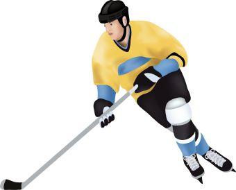 Hockey clip art 2 clipartcow