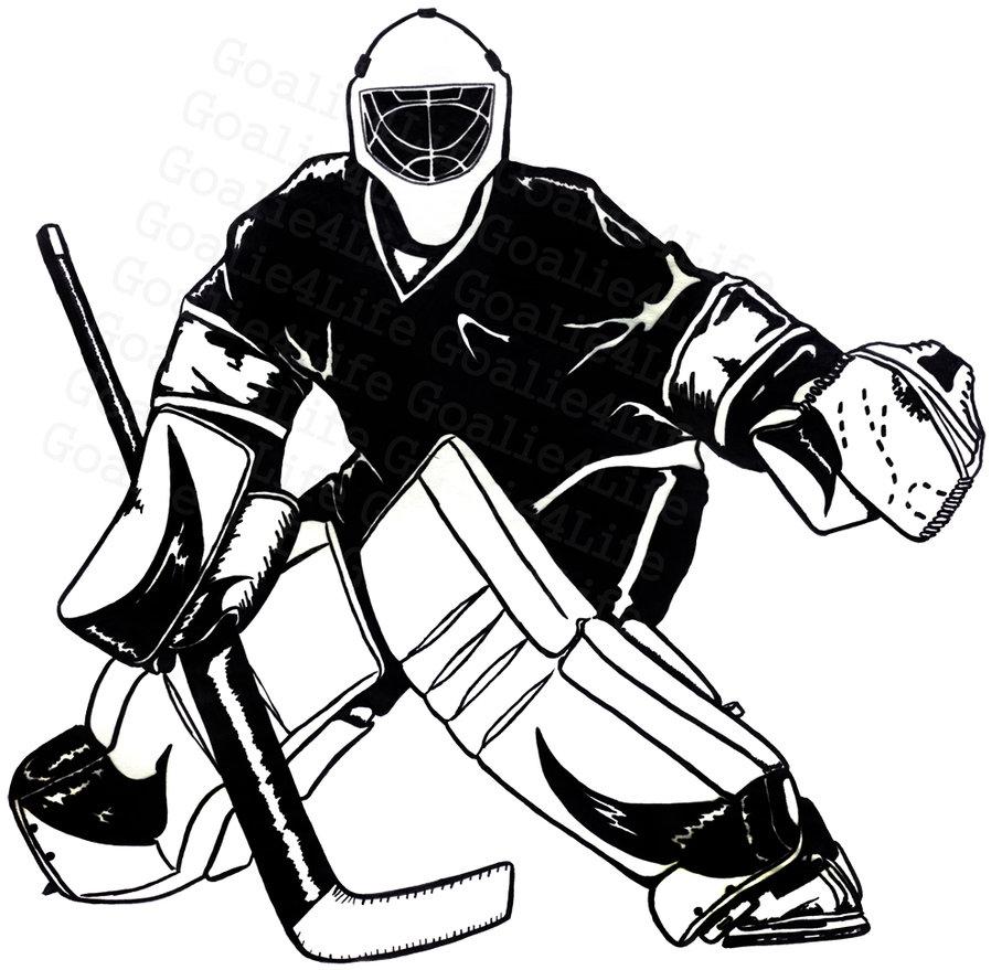 Hockey Goalie Clipart Cliparts Co-Hockey Goalie Clipart Cliparts Co-6