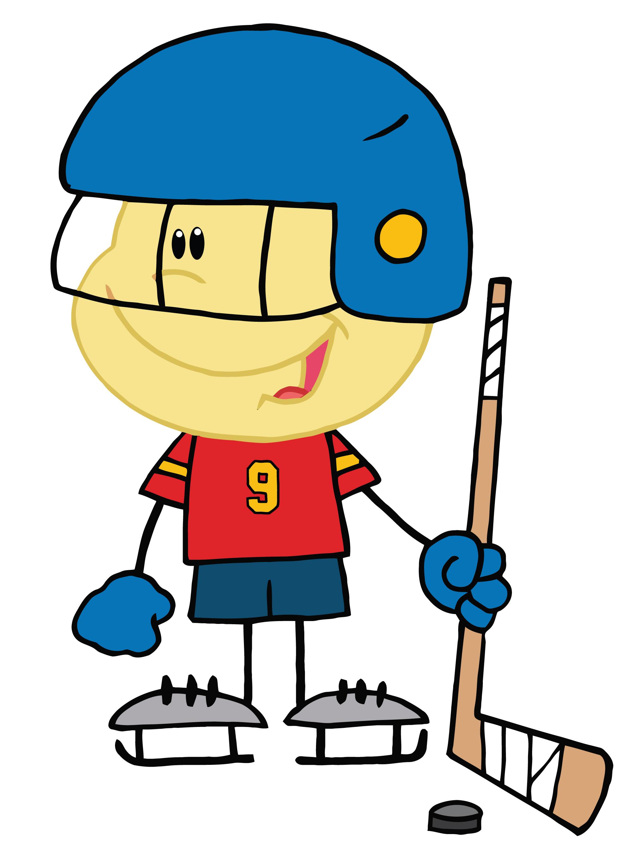Hockey Stick Clipart Black .-Hockey Stick Clipart Black .-15