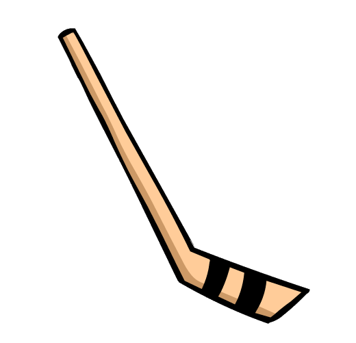 ... Hockey Stick Clipart - clipartall ...