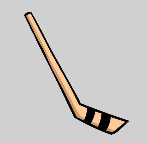 ... Hockey Stick Clipart - clipartall ...