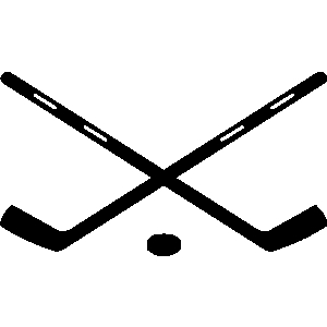 ... Hockey sticks clipart
